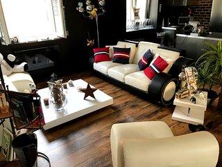 Duplex lumineux et spacieux