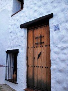 Puerta de la casa.