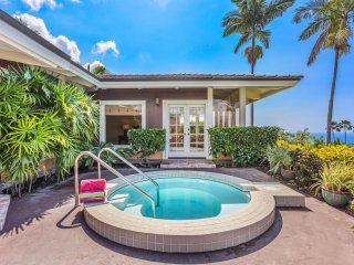 Keauhou Estates #185 - Luxury Home with Amazing Sunset and Ocean Views*Perfect f