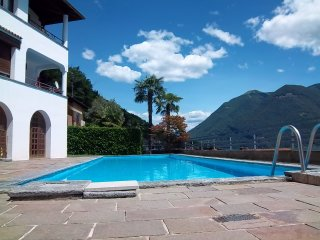 Casa Terrazzo with amazing lake view and a garden