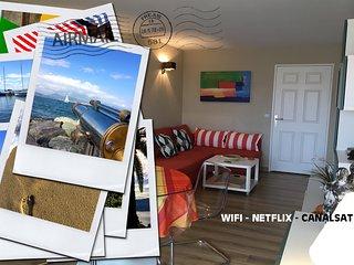 FRÉJUS-PLAGE - Ravissant appartement à deux pas de la plage de sable fin !