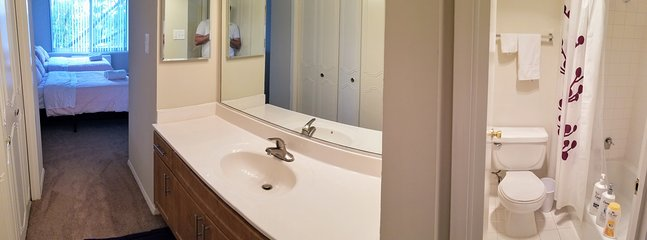 second bathroom in master bedroom