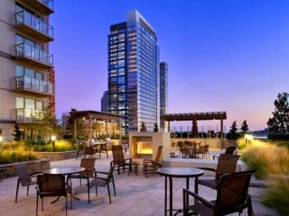 1B Apt Next to Hyatt /Bellevue Square 紧邻凯悦大酒店的高端公寓