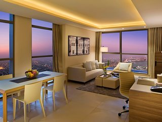 Two Bedroom Penthouse with Executive Sky Lounge that overlooks the Arabian Sea
