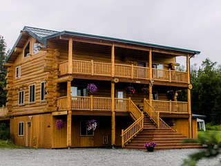 Alaska Knotty Pine Lodge