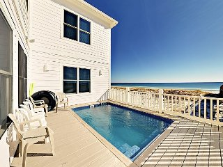 Stunning 7BR Oceanfront House w/ Private Pool & Beach