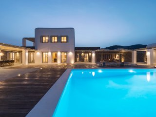 Unique 7-bedroom Villa Operetta with swimming pool and lounge areas & sea views