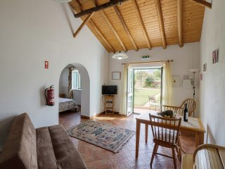 Duas Quintas,delightful rural studio with breakfast among the orange trees.