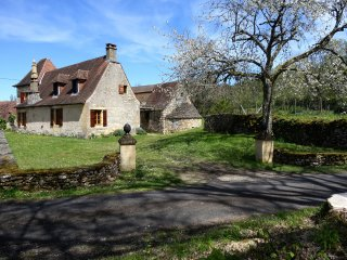 Charming old house, heart of nature on the hills above Vezere valley