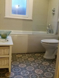New bathroom 2016 and new floor Nov 17
