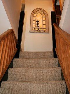 Arranged over three floors
