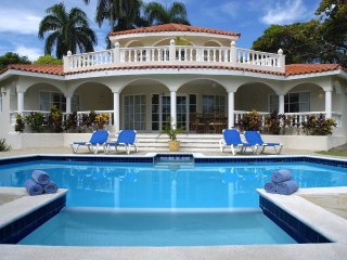 6 Bedroom Villa VIP service & private pool in the Caribbean 10-12 guests