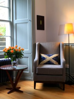 Sitting Room:  restrained Scottish good taste.