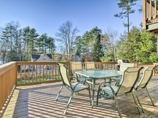 Naples Cottage w/ Sebago Cove Views & Dock Access!