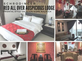 2301 . Schrodinger-Red All Over Auspicious Inn The Shore Malacca