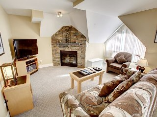 Spacious 1 Bedroom Suite with Private Balcony and Fireplace