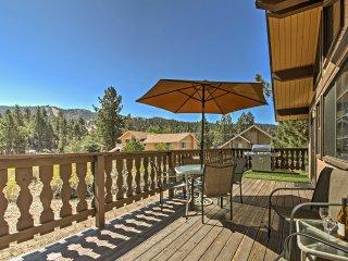 NEW! 3BR Big Bear Lake House w/ Deck & Hot Tub!