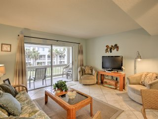 Serene St. Augustine Condo - Steps to the Beach!