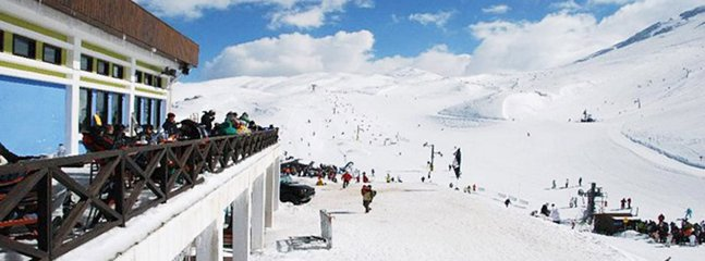 Parnassos mountain winter ski center, just an hour drive away from the estate.