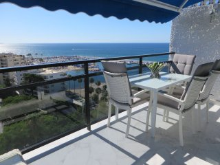 Spectacular luxe beachfront penthouse apartment Marbella's most central location