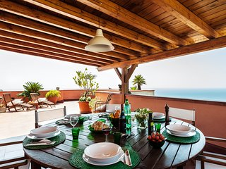 Casa San Domenico, central penthouse with panoramic view