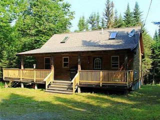 #200 Private Log cabin nestled in the woods of Maine