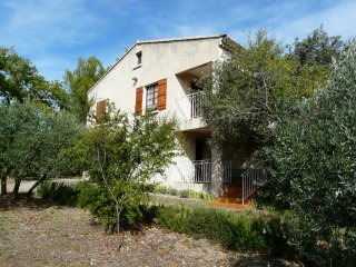 LS2-2 OULIVE, Provencal house in a green place, in Cabrieres d'Avignon