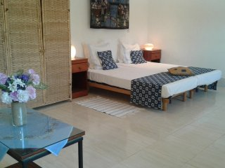 B & B Villa Calliandra blue room