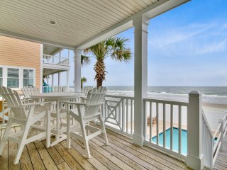 ALL-INCLUSIVE RATES! The Big Chill - Oceanfront, Private Pool, Walkway to Beach