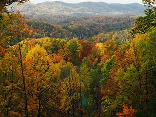 Spectacular Mountain View Private Cabin Gatlinburg/Pigeon Forge