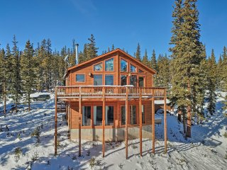 NEW! Private 4BR Fairplay Chalet w/ Media Room!