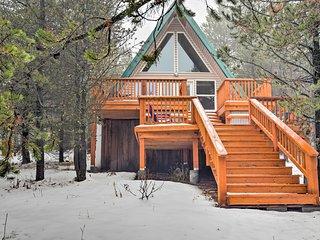 NEW! Lakefront 2BR+Loft Island Park Cabin w/Dock