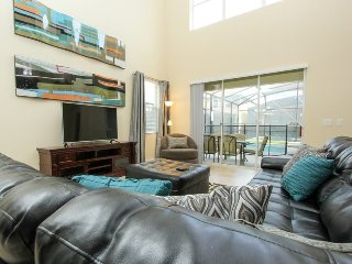 2936BPR. Stunning 5 Bed 5 Bath Pool Home In Paradise Palms Resort