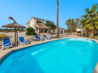 TRADITIONAL MALLORCAN 2 BEDROOM VILLA WITH PRIVATE POOL, BBQ AREA & NICE VIEWS