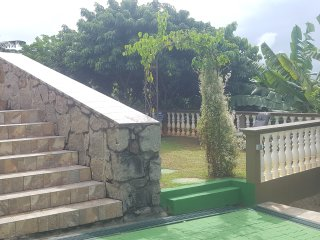 Steps to BBQ Area