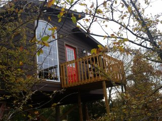 Elevated Lakeview Treehouse for 2-Fully Furnished-Pet Friendly(Double Peak)