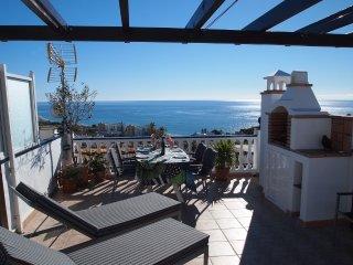 Plaza Cadiz 10 roof terrace overlooking the ocean