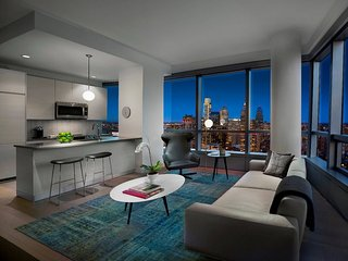 Offering the most stunning views of Philadelphia, Spectacular two bedroom Suite