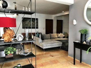 Modern Next to Condesa and WTC 2 Rooms/Baths A/C