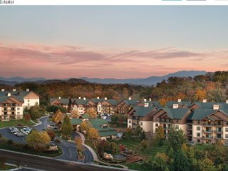 Wyndham Smoky Mountains, 3BR Condo, Sleeps 10