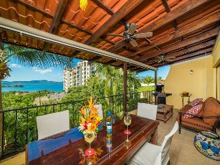 Upscale Ocean View Condo in the Heart of Playa Flamingo