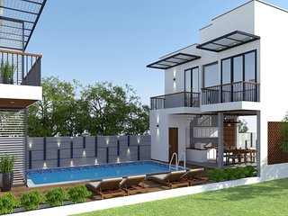 MAY VILLA: Private Pool And Near Beach