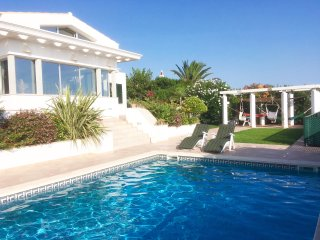 MODERN VILLA IN BINIBECA WITH SWIMMING POOL AND BEAUTIFUL SEA VIEW