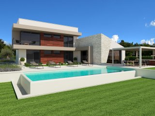 Modern Villa Dante with Pool and