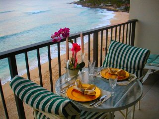 ROMANTIC CONDO FOR 2 ON BEACH-HAW. PRINCESS-CLEAN-1800 OCEAN/SUNSET VIEWFREE PKG