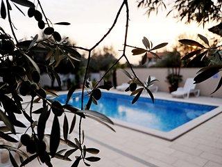 Ferienwohnung I mit Pool-Salzwasser, Internet, Klima, flach Sat-TV, Ausen Grill