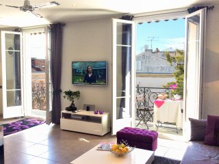 If you like to spend evenings with a bottle of wine on the balcony, our apartment is your choice