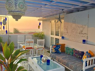 The One, A Mediterranean themed terrace apartment