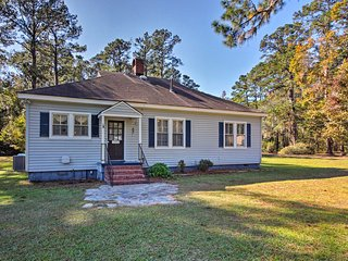 NEW! Historic 3BR Richmond Hill Home on 5 Acres!
