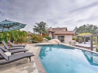 NEW! 3BR San Diego Vineyard Villa w/ Pool & Views!